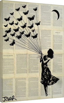 Tableau sur Toile Loui Jover - Butterflying