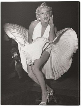 Tableau sur Toile Marilyn Monroe - Seven Year Itch