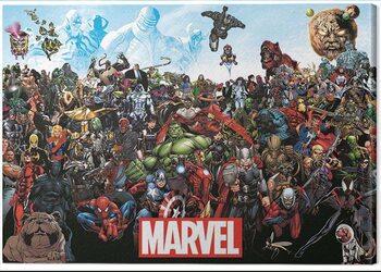 Tableau sur Toile Marvel - Universe
