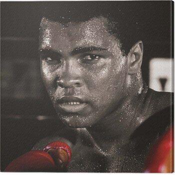 Tableau sur Toile Muhammad Ali - Boxing Gloves