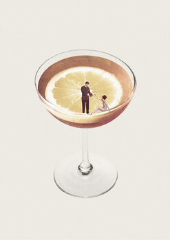 Tableau sur Toile My drink needs a drink