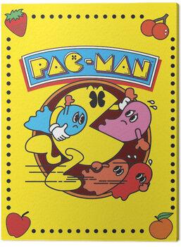 Tableau sur Toile Pac-Man - Vintage