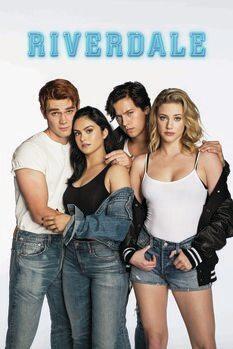 Tableau sur Toile Riverdale - Archie, Jughead, Veronica and Betty