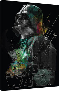 Tableau sur Toile Rogue One: Star Wars Story - Darth Vader Lines