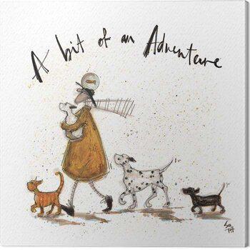 Tableau sur Toile Sam Toft - A Bit of an Adventure