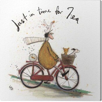 Tableau sur Toile Sam Toft - Just in Time for Tea