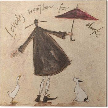 Tableau sur Toile Sam Toft - Lovely Weather for Ducks