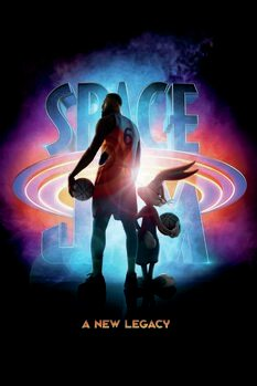 Tableau sur Toile Space Jam 2  - Official