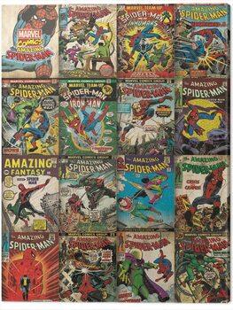 Tableau sur Toile Spider-Man - Covers
