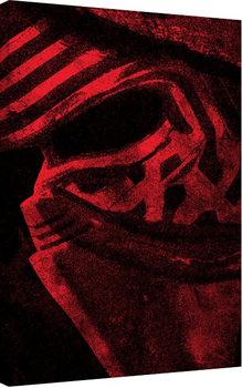 Tableau sur Toile Star Wars, épisode VII : Le Réveil de la Force - Kylo Ren Mask