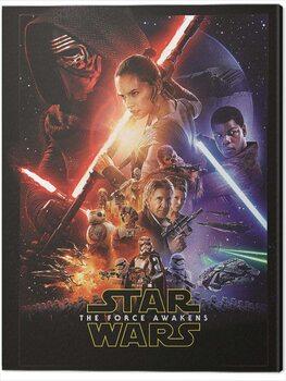 Tableau sur Toile Star Wars Episode VII - One Sheet