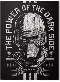 Tableau sur Toile Star Wars: L'ascension de Skywalker - Kylo Ren Has Returned