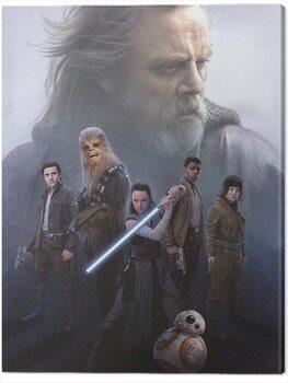 Tableau sur Toile Star Wars The Last Jedi - Hope
