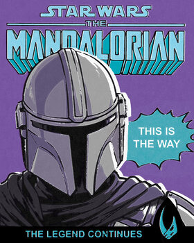 Tableau sur Toile Star Wars: The Mandalorian - This Is The Way
