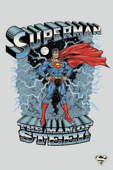 Tableau sur Toile Superman - The man of steel