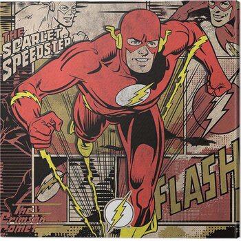 Tableau sur Toile The Flash - Burst