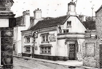 Tableau sur Toile The Kings Head Yarmouth, 2008,