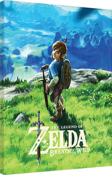 The Legend Of Zelda: Breath Of The Wild - View Tableau sur Toile
