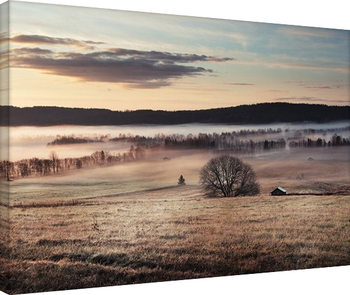 Andreas Stridsberg - Misty Morning Tableau sur Toile