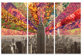 Bianca Green - Flowers of New York Tableau sur Toile