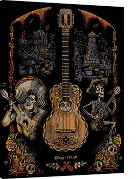 Coco - Day of the Dead Tableau sur Toile