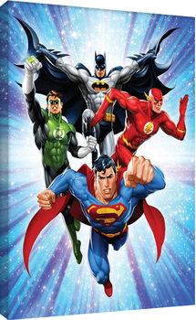 DC Comics - Justice League - Supreme Team Tableau sur Toile