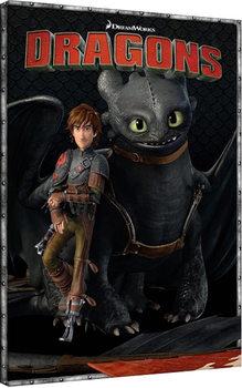Dragons 2 - Portrait Tableau sur Toile
