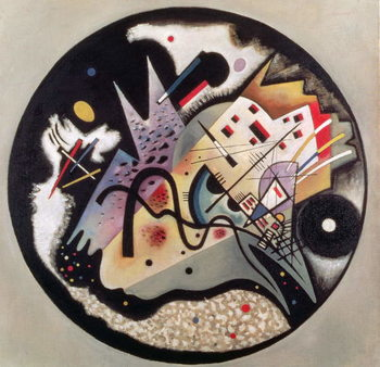 In the Black Circle, 1923 Tableau sur Toile