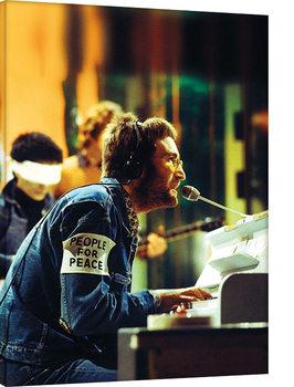 John Lennon - People For Peace Tableau sur Toile