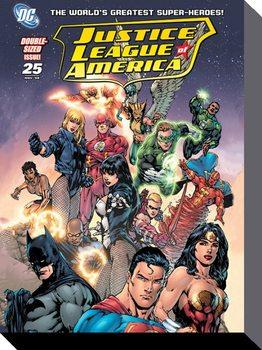 Justice League - Heroes Tableau sur Toile