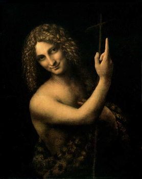 St. John the Baptist, 1513-16 Tableau sur Toile