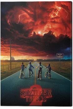 Stranger Things - Mind Flayer Tableau sur Toile