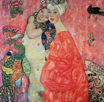 The Girlfriends, 1916-17 Tableau sur Toile