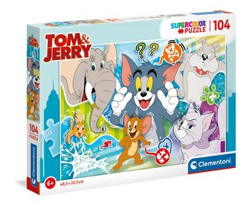Puzzle Tom and Jerry