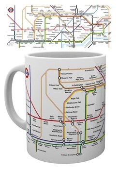 Mok Transport For London - Underground Map
