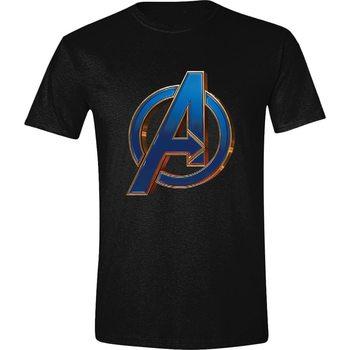 Tričko  Avengers: Endgame - Heroic Logo