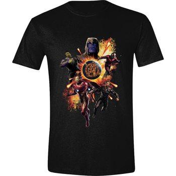 Tričko  Avengers: Endgame - Thanos & Avengers