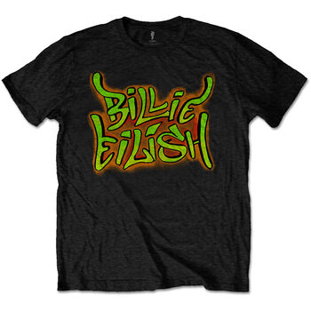 Tričko Billie Eilish - Graffiti