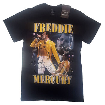 Tričko Freddie Mercury - Live