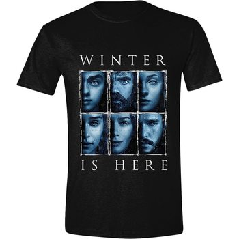 Tričko  Hra o Trůny (Game of Thrones) - Winter Is Here