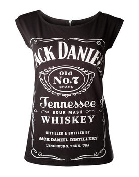 Tričko  Jack Daniel's - Black With Zipper