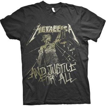 Tričko Metallica - Justice Vintage