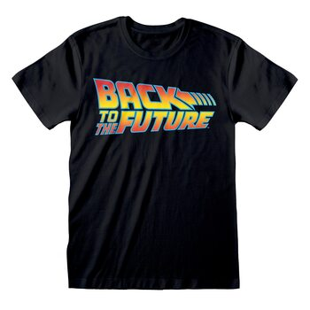 Tričko Návrat do budoucnosti - Logo