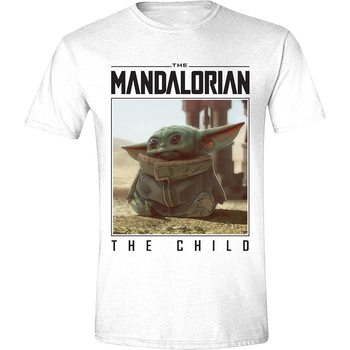 Tričko Star Wars: The Mandalorian - The Child Photo