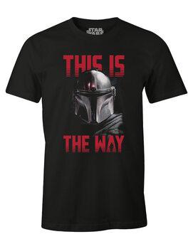 Tričko Star Wars: The Mandalorian - This is the Way