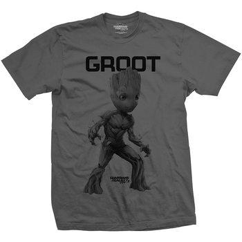 Tričko  Strážci Galaxie - Groot Mono