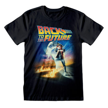 Back To The Future - Poster Tricou