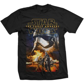 Star Wars - Phasma & Troopers Tricou