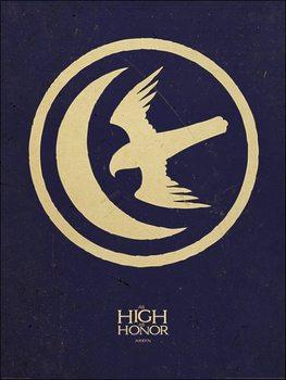 Trónok harca - Game of Thrones - Arryn Festmény reprodukció