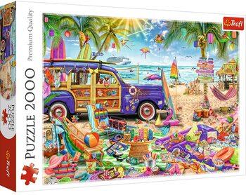 Puzzle Tropická dovolená